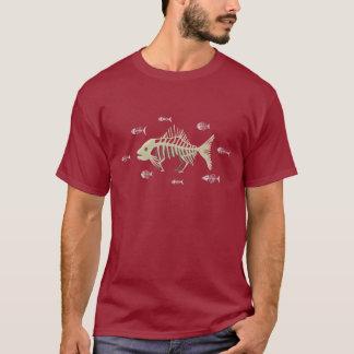 Darwin fiskskelett tshirts