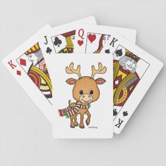 Dasher hjorten älskar jul spel kort