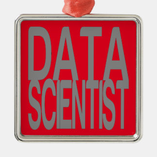 Data Scientist in Tall Silver Text