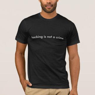 dataintrånget är inte en crime. tee shirts