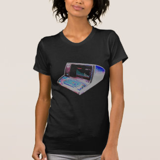DATOR för VINTAGE för COREY-TIGER80-tal RETRO Tshirts