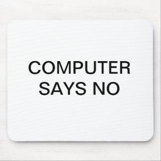 """""""Datornågot att sägainte"""" mousepad Musmatta"""