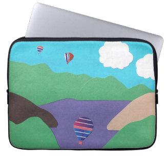 Datorsleeve med bergdesign laptop fodral