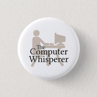 Datorwhispereren Mini Knapp Rund 3.2 Cm