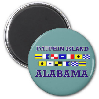 Dauphin I. Sjunka Magnet Magnet Rund 5.7 Cm