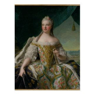 Dauphine Marie-Josephe de Saxe 1751 Vykort