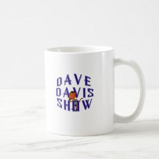 Dave maskotlogotyp kaffemugg