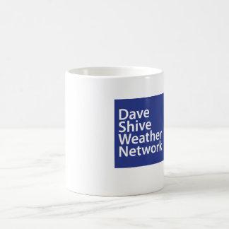Dave Shive väder knyter kontakt muggen Kaffemugg