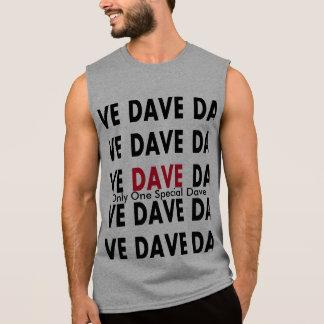 Dave T-shirts Utan Ärmar