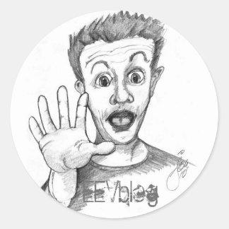 DaveHead EEVblog klistermärke