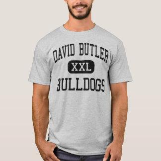 David betjänt - bulldoggar - kick - Matthews T Shirts