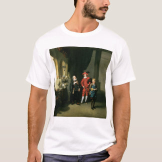 David Garrick med William Burton och John T Shirt