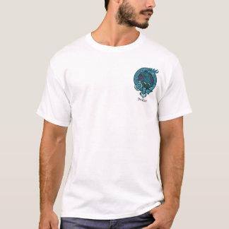 Davidson klanvapensköld tee shirt