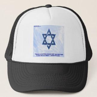 Davidsstjärna & roliga judiska Proverbgåvor & kort Truckerkeps