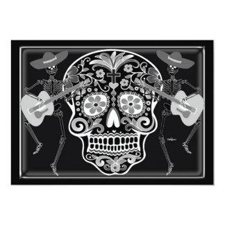 Day of the dead 12,7 x 17,8 cm inbjudningskort