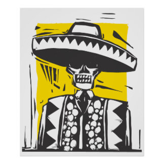 Day of the dead #1 affischer