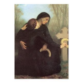 Day of the dead av William Adolphe Bouguereau 11,4 X 15,9 Cm Inbjudningskort
