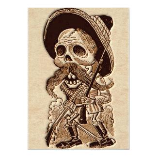 Day of the dead - Diameter de Los Muetos 12,7 X 17,8 Cm Inbjudningskort