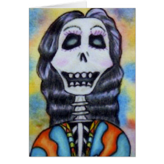 Day of the dead Notecard OBS Kort