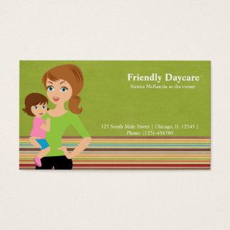 Daycare Visitkort