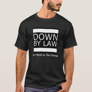 DBL går den hårda Blk-utslagsplatsen T-shirt