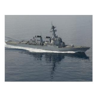 DDG 63 USS Stethem Vykort