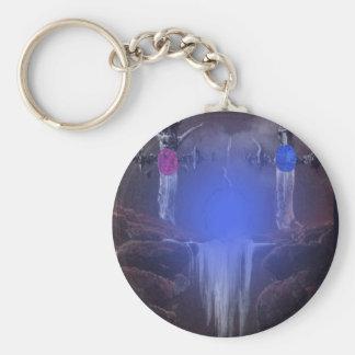 De anknyta stenarna rund nyckelring