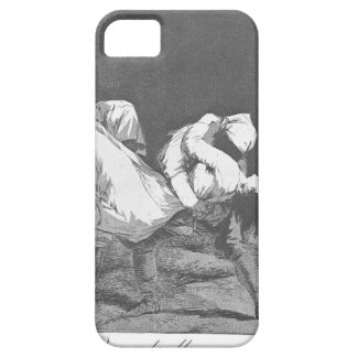 De bar av henne vid Francisco Goya iPhone 5 Fodral