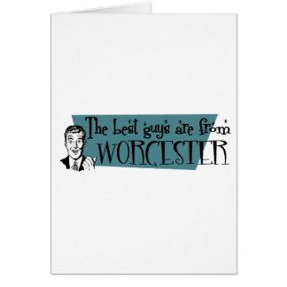 De bäst grabbarna är från Worcester Hälsningskort