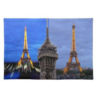 De Eiffel tornParis frankrikena Underlägg