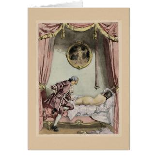 De franska säng~-korten/inbjudningarna/OSA OBS Kort