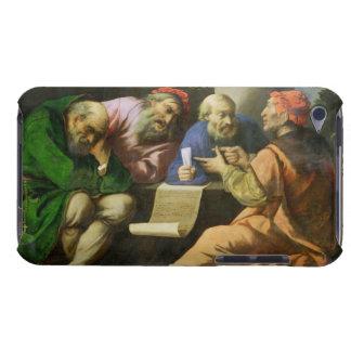 De fyra fäderna av kyrkan (olja på lagd kanfas barely there iPod skydd