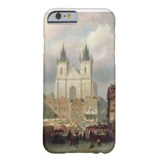 De gammala marknadsför stället på Prague, 1881 Barely There iPhone 6 Fodral