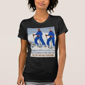 De gillar vinter i statliga New York Tee Shirt