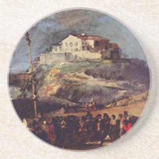De Goya Konstverk Underlägg Sandsten