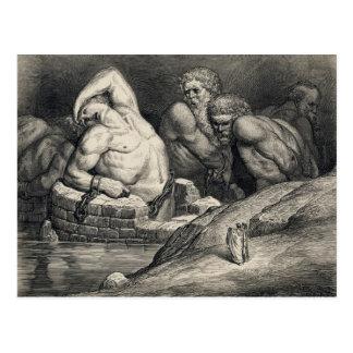 De Gustave Dorés jättarna Vykort
