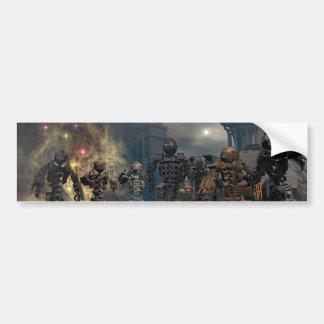 de härliga sju robotarna b bildekal