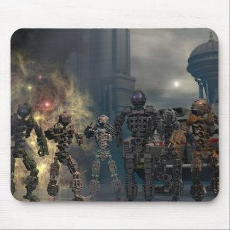 de härliga sju robotarna b musmattor