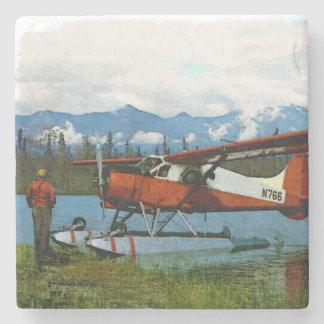 De Havilland Bäver Floatplane Underlägg Sten