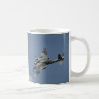 De Havilland Mygga T3-bankrörelse, visninginvasion Kaffemugg