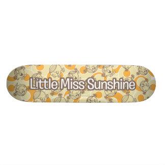 De många ansiktena av lite det Fröcken solskenet Skateboard Bräda 21,5 Cm