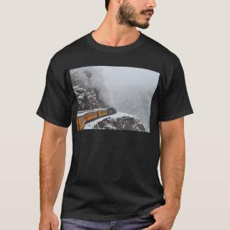 De polara uttryckliga rundorna krökningen tee shirt