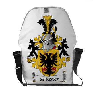 de Ridder Familj vapensköld Messenger Bag