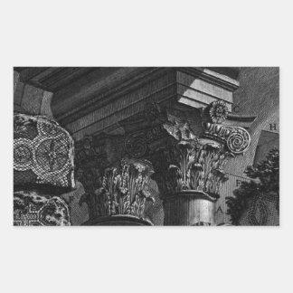 De romerska forntidarna, t. 2 pläterar XXIII. Rektangulärt Klistermärke