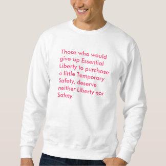 De, som skulle, ger upp nödvändig frihet till pu… långärmad tröja