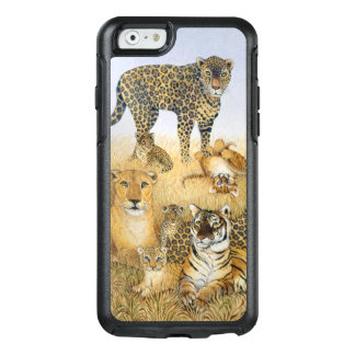 De stora katterna OtterBox iPhone 6/6s skal