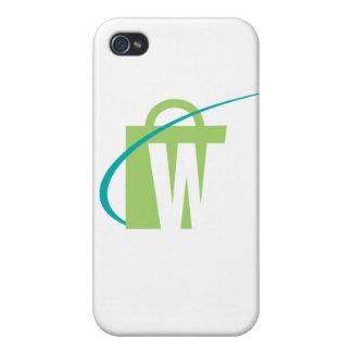 """De största världarna: fodral för iPhone """"W"""" iPhone 4 Cases"""