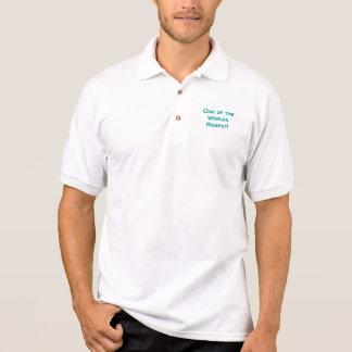De största världarna: Sidskjorta 2 för vit T Tenniströja