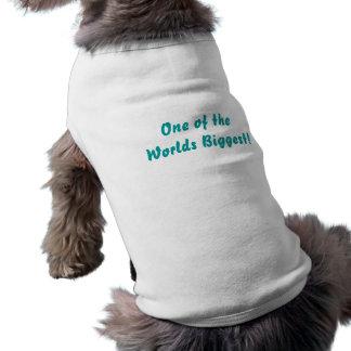 De största världarna: Valplagvit, skrivar Djur Tshirt