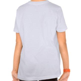 De största världarna: Vit för flickor T med instäl Tee Shirts